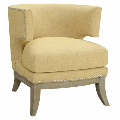 Albiero Barrel Chair Upholstery: Yellow