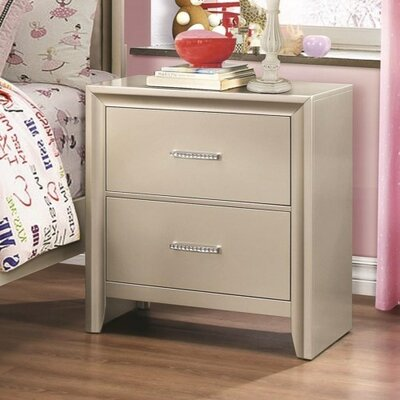 Enya 2 Drawer Nightstand