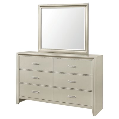 Enya 6 Drawer Dresser