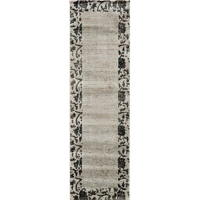 Rochelle Ivory Area Rug Rug Size: 2 x 3