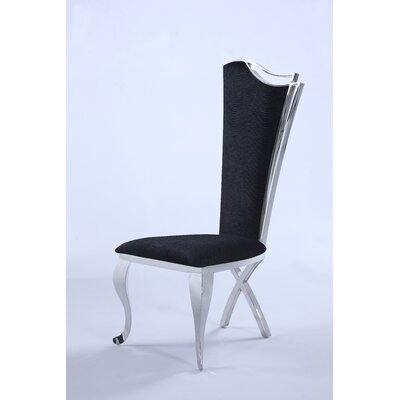 Dereham Parsons Chair (Set of 2) Upholstery: Black