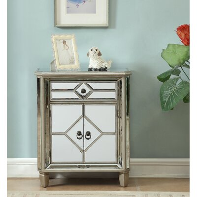Balham 1 Drawer and 2 Door Accent Cabinet