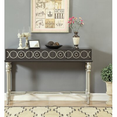 Piccadilly 3 Drawer Console Table