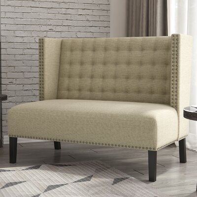 Aline Upholstered Entryway Bench Color: Hemp