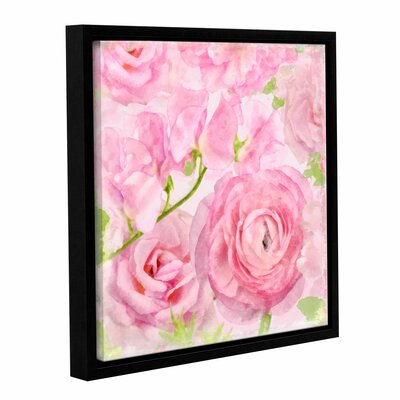 Soft Flowers VI Framed Painting Print Size: 10