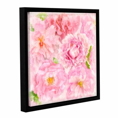 Soft Flowers III Framed Painting Print Size: 10