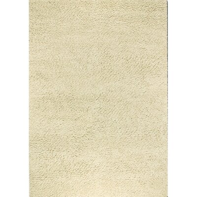 Lorain Hand-Woven Ivory Area Rug Rug Size: Rectangle 96 x 13
