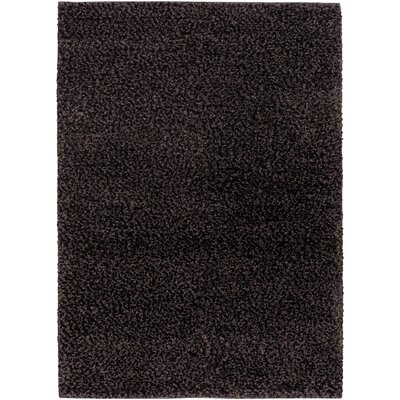 Lorain Hand-Woven Black Area Rug Rug Size: Rectangle 96 x 13