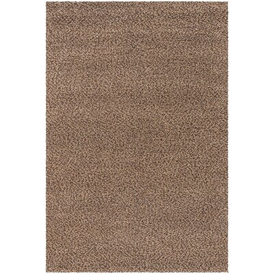 Lorain Hand-Woven Chocolate Area Rug Rug Size: Rectangle 96 x 13