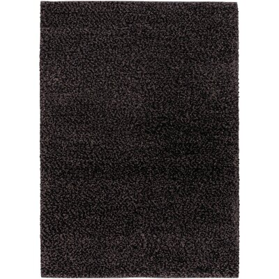Lorain Hand-Loomed Black Area Rug