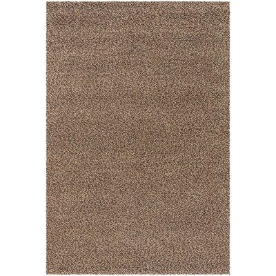 Lorain Hand-Loomed Chocolate Area Rug