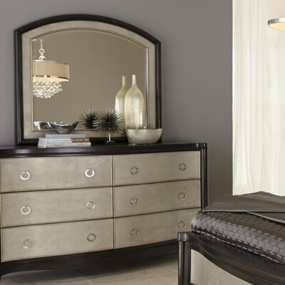Orono 6 Drawer Dresser and Mirror