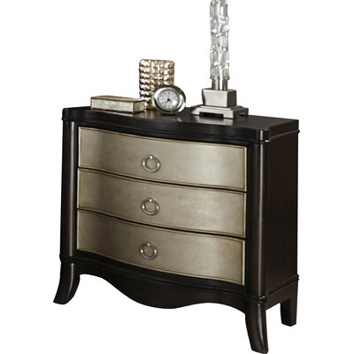 Orono 3 Drawer Bachelors Chest