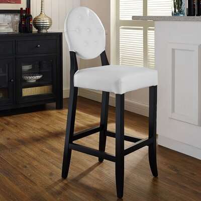 Rosemary 29 Bar Stool Upholstery: White