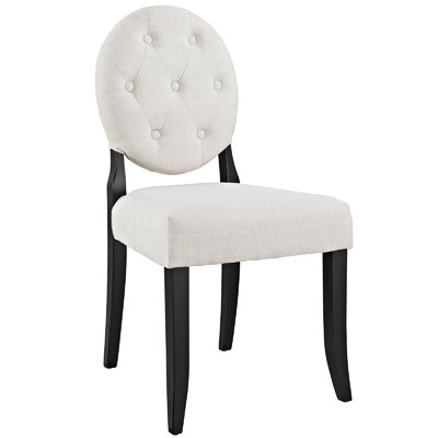 Courtnay Side Chair Upholstery: Beige