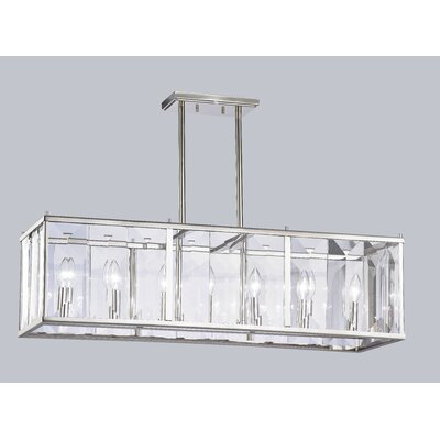 Tatiana 7-Light Linear Kitchen Island Pendant
