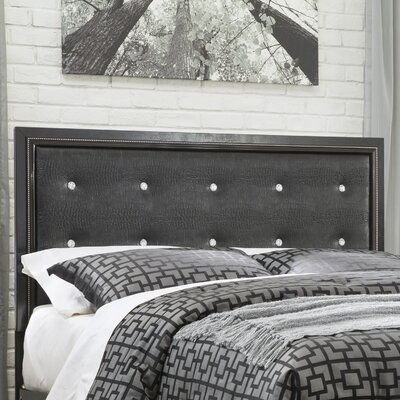 Aquilae Upholstered Panel Headboard Size: Queen