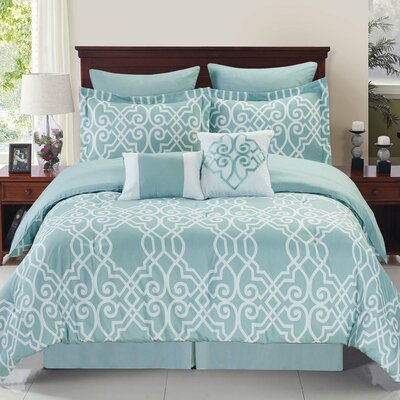 Fortunata Reversible Comforter Set Size: King