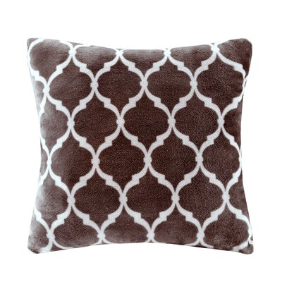 Flannagan Square Throw Pillow Color: Brown