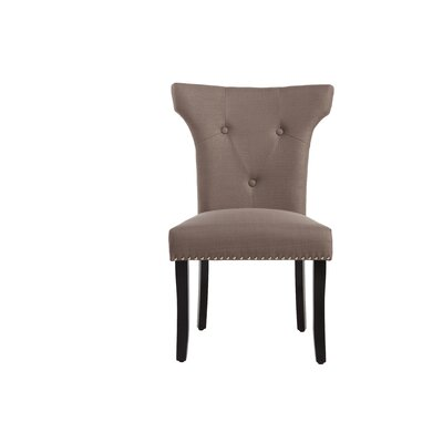 Roseta Side Chair Upholstery: Dolphin