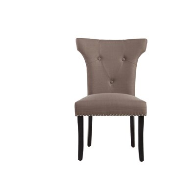 Remagne Side Chair Upholstery: Dolphin