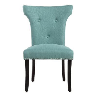 Roseta Side Chair Upholstery: Laguna