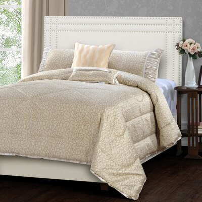 Dodgson 5 Piece Comforter Set Size: King