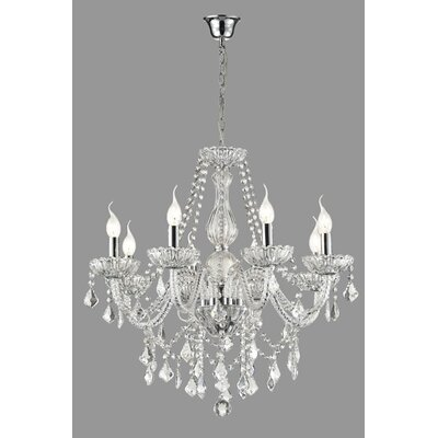 Daly 12-Light Crystal Chandelier