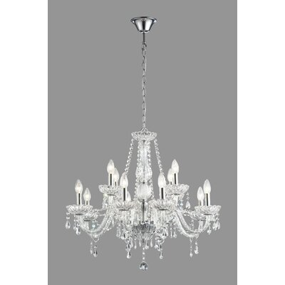 Daly 18-Light Crystal Chandelier