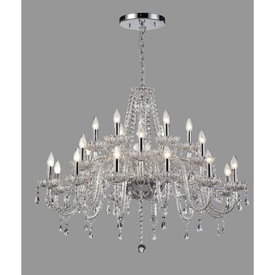 Daly 24-Light Crystal Chandelier