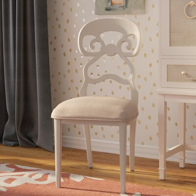 Anderson Parsons Chair (Set of 2) Finish: Distressed White