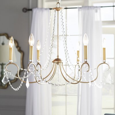 Devana 8-Light Candle-Style Chandelier Finish: Antique Silver Leaf