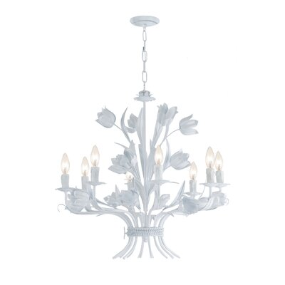 Destinie 8-Light Candle-Style Chandelier