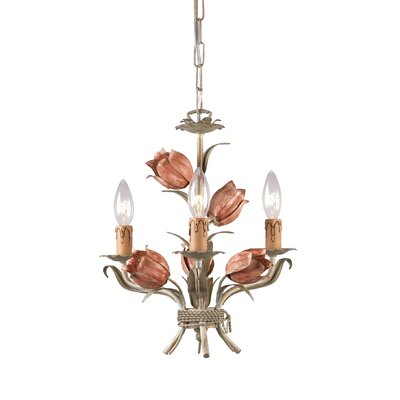 Fawley 3-Light Candle-Style Chandelier