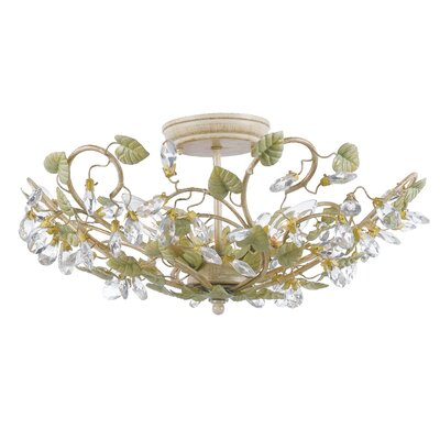 Chearsley 3-Light Semi Flush Mount