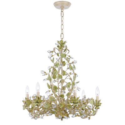 Chearsley 6-Light Crystal Chandelier