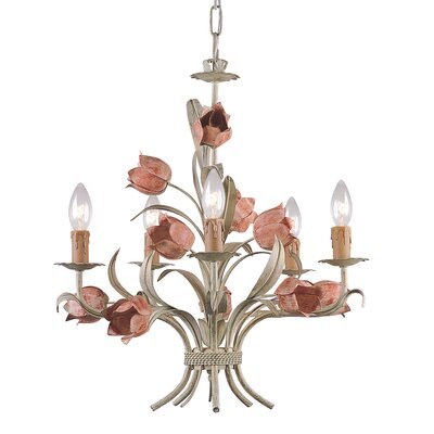 Fawley 5-Light Candle-Style Chandelier