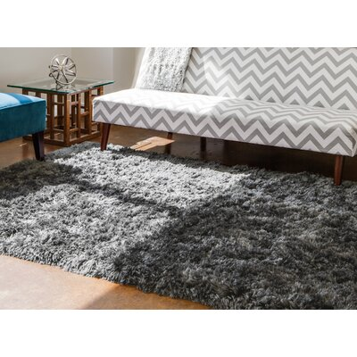 Calanthe Hand-Tufted Graphite Area Rug