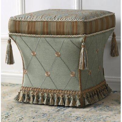 Yates Traditional Pedestal Ottoman