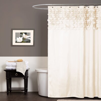 Aminu Shower Curtain Color: Beige