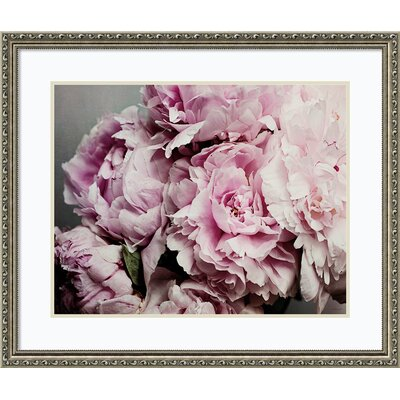 Peonies Galore II Framed Photographic Print