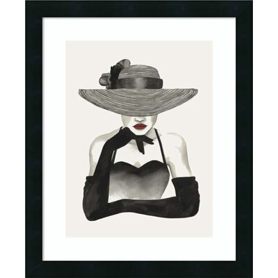 In Vogue II Framed Painting Print