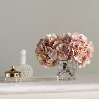 Soft Hydrangea Floral Arrangement