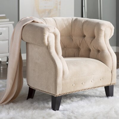 Bellagio Tufted Accent Chair
