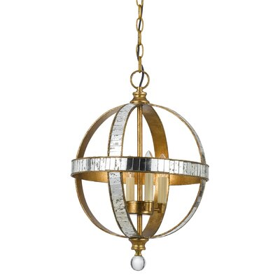 Shoemaker 4-Light Globe Pendant