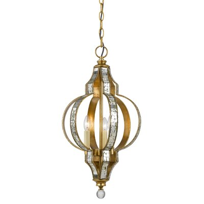 Devry 3-Light Mini Pendant