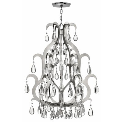 Ellington 12-Light Crystal Chandelier