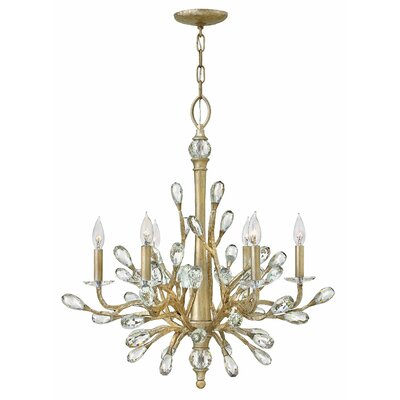Diandre 6-Light Crystal Chandelier