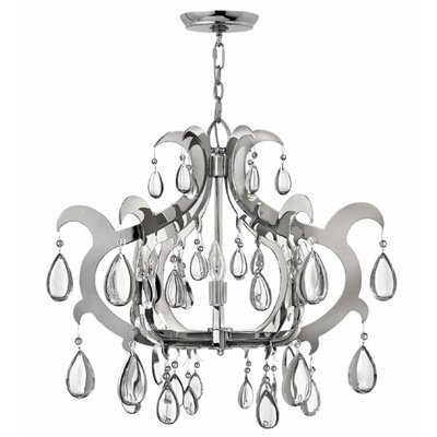 Ellington 6-Light Crystal Chandelier