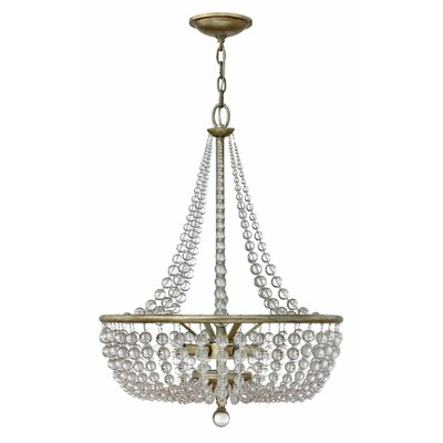 Lionel 4-Light Crystal Chandelier